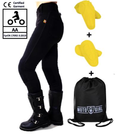 MotoGirl Zip Leggings